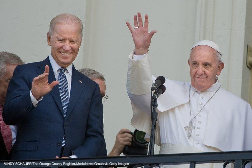 Joe Biden Papa Francisco