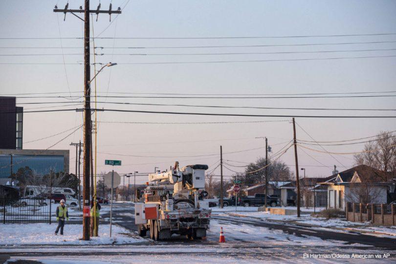 Texas energia eventos climáticos extremos