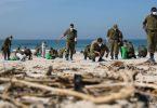 derramamento de óleo Israel