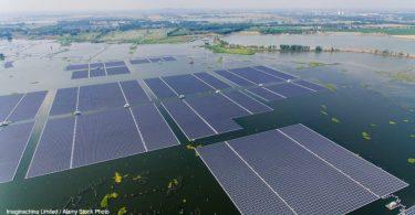 solar flutuante África