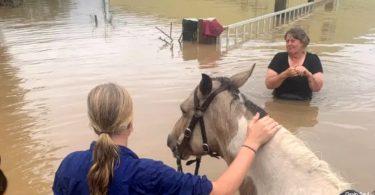 Austrália enchente