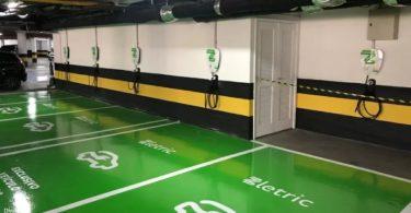 SP recarga carros elétricos