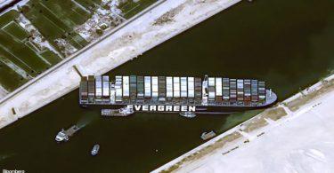 bloqueio Canal Suez
