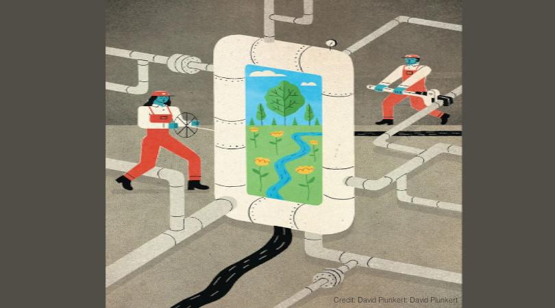 gás natural combustível sustentável