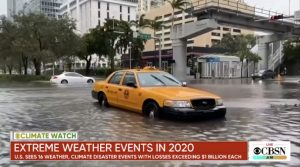 mudança do clima tempestades tropicais