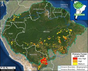 desmatamento Pan-Amazônia