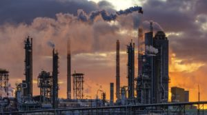 emissões das indústrias