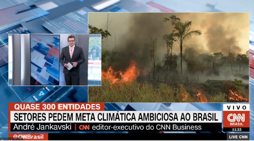 mais ambição meta climática Brasil