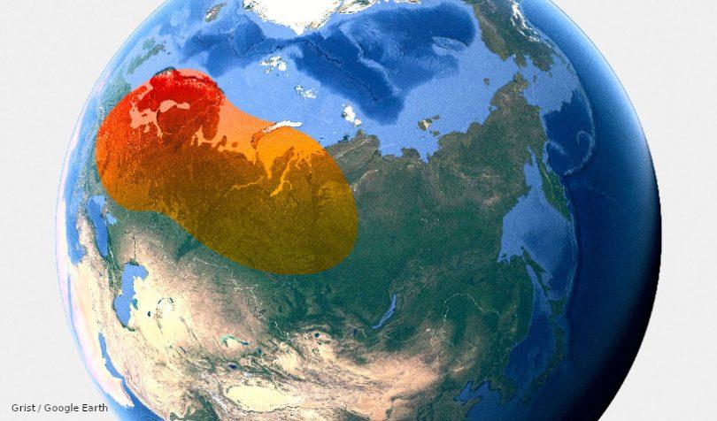 Ártico aquecimento Rússia EUA