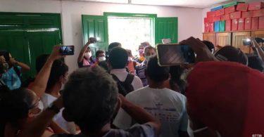 madeireiros invadem sindicato Santarém