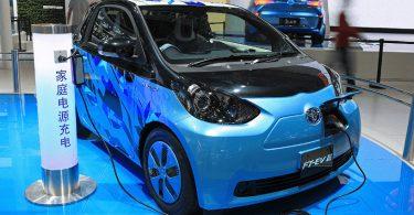 veículos elétricos China
