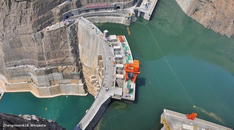 China mega-hidrelétrica
