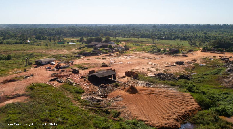 ISA desmatamento recorde
