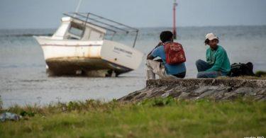 ilhas ameaçadas pela mudança do clima