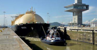 seca Canal do Panamá