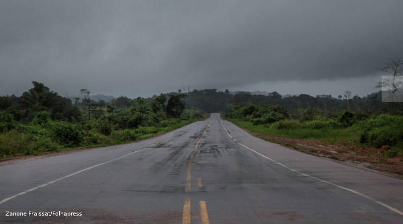 BR-163 rodovia do desmatamento