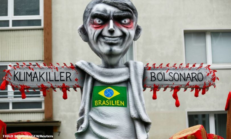 Bolsonaro má imagem internacional