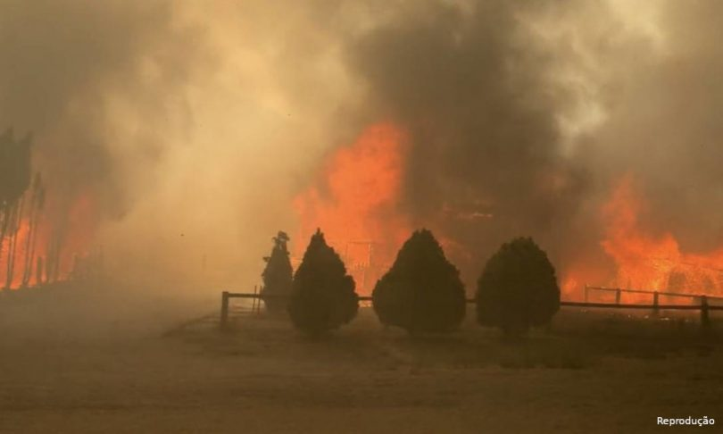 Canadá incêndios florestais