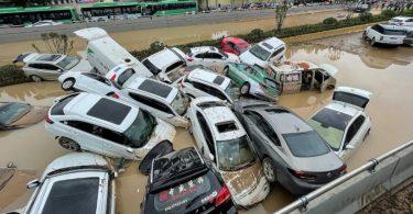 China inundações