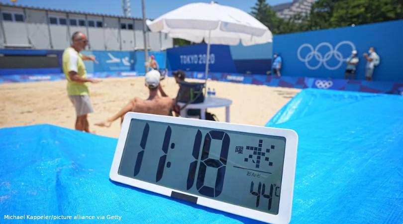 jogos olímpicos Japão calor