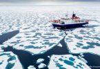 último gelo Ártico