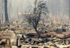 Dixie incêndio Califórnia