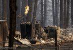 EUA Califórnia incêndios ativos
