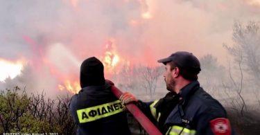 Grécia incêndios florestais