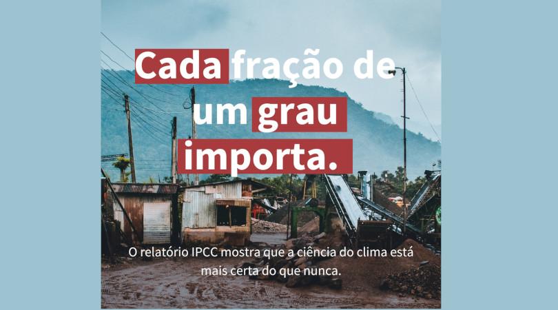 Relatório do IPCC AR6 2