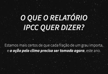 Relatório do IPCC AR6 3