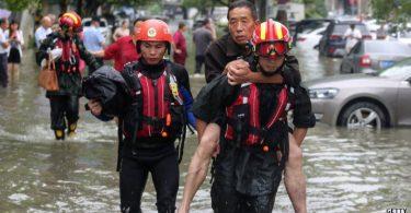 crise climática enchentes