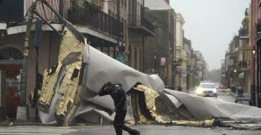 furacão Ida New Orleans