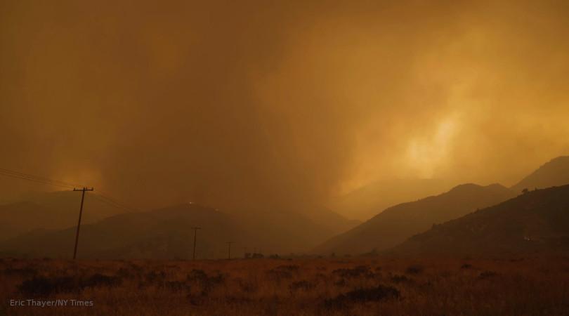 incêndios florestais COVID-19