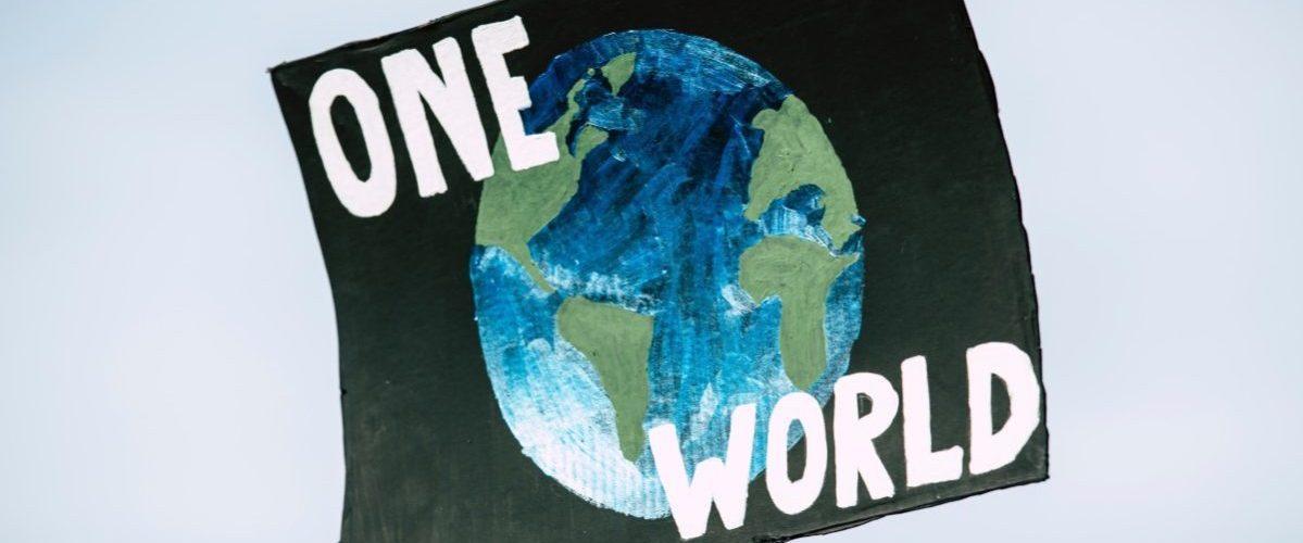 só temos um mundo