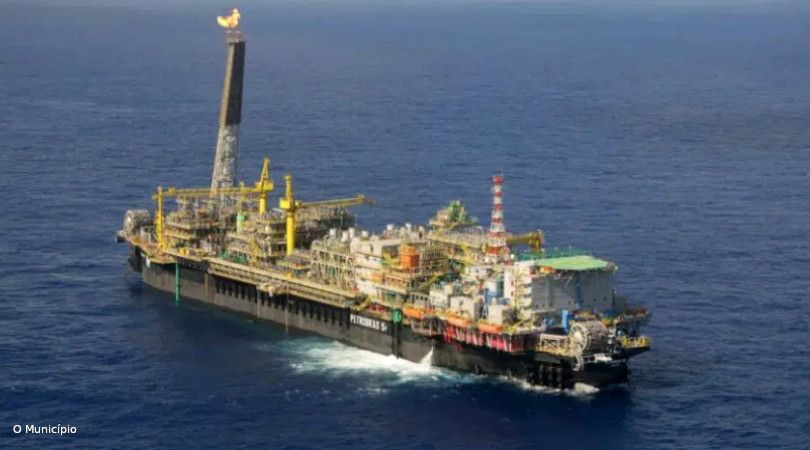 produção de petróleo