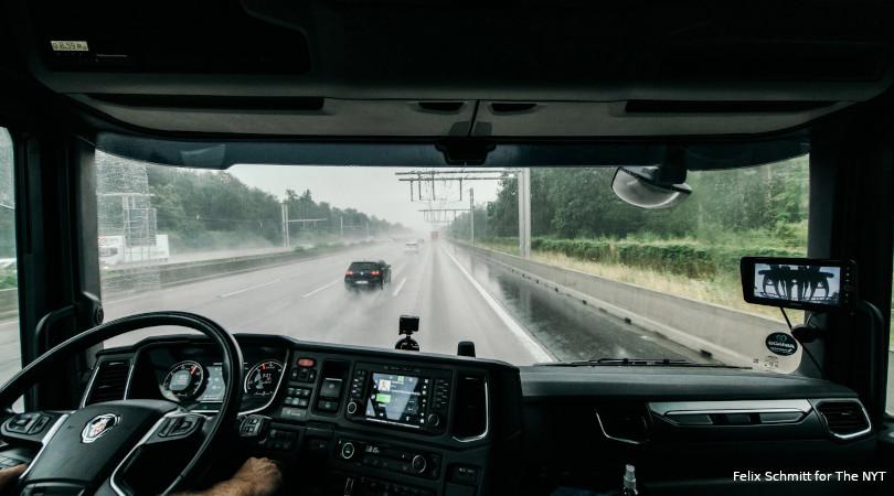 rodovia eletrificada