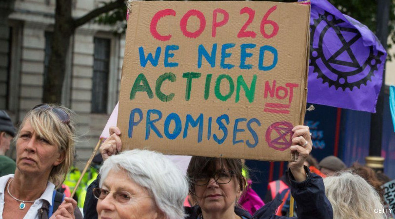 COP26 adiamento