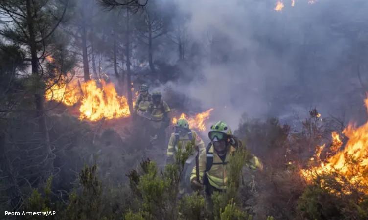 Espanha incêndios florestais
