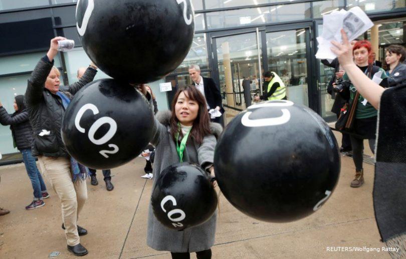 G20 emissões de carbono