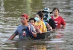 chuvas extremas Tailândia