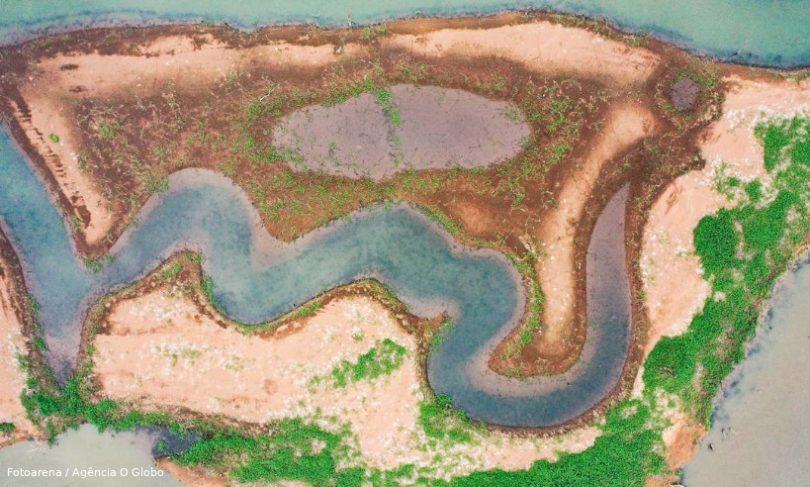 crise hídrica reservatórios vazios