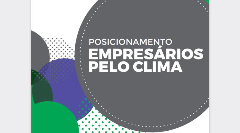 empresários pelo clima