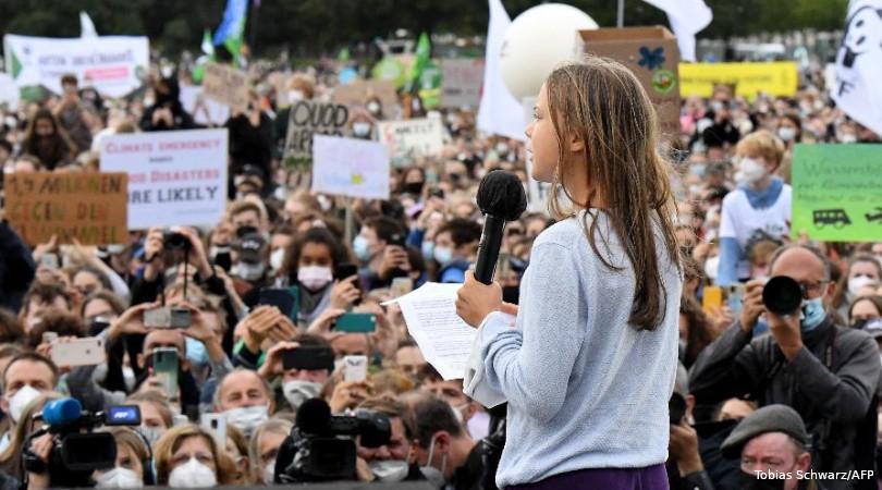 greve pelo clima