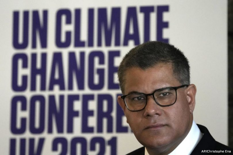 COP26 Alok Sharma agora ou nunca